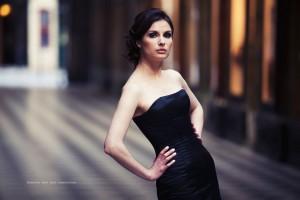 Robe corsetée