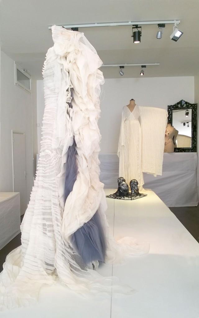 Oeuvres réalisées par les participants à l'exposition