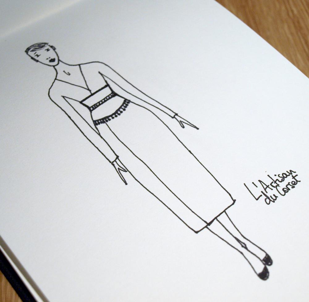 Ceinture corsetée