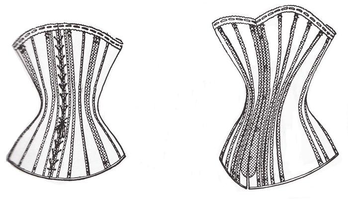 corset 1880