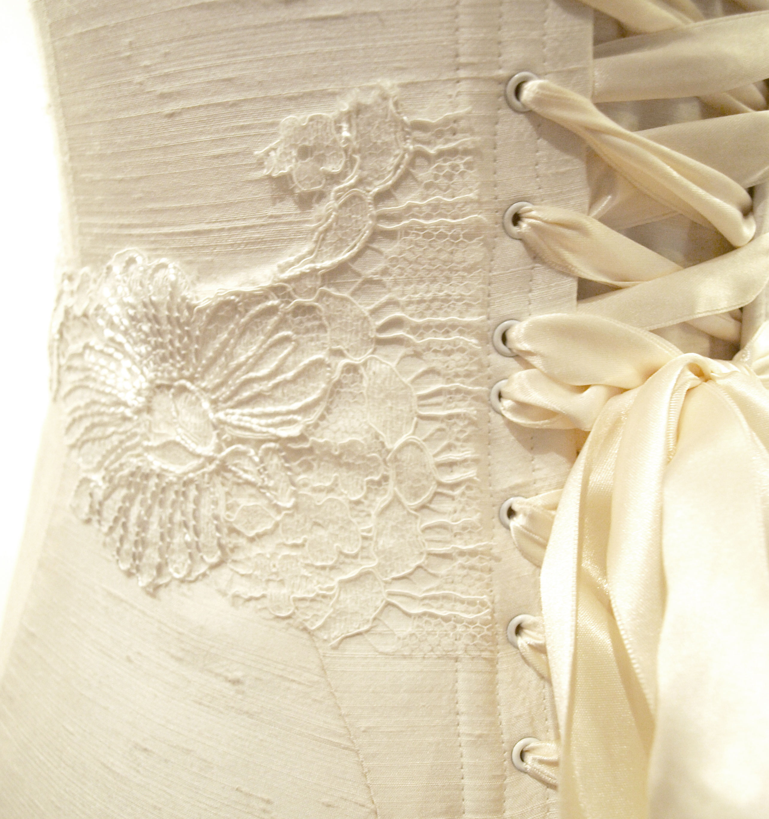 Detail of the lace
